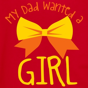 My dad wanted a girl and a bow cute! Zip Hoodies & Jackets - Unisex Fleece Zip Hoodie by American Apparel