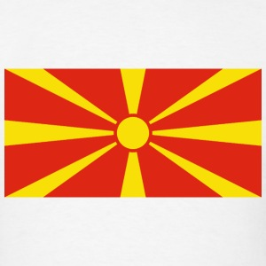 Macedonia Flag T-Shirt - Men's T-Shirt