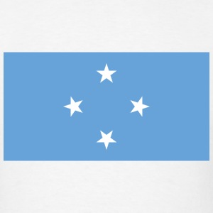 Micronesia Flag T-Shirt - Men's T-Shirt
