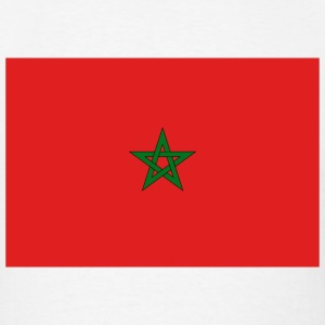 Morocco Flag T-Shirt - Men's T-Shirt