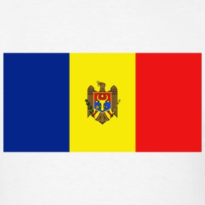 Moldova Flag T-Shirt - Men's T-Shirt