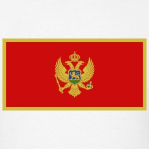 Montenegro Flag T-Shirt - Men's T-Shirt