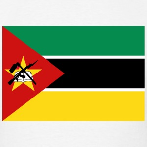 Mozambique Flag T-Shirt - Men's T-Shirt