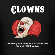 Design ~ Clowns are Scary