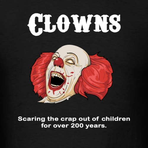 Clowns are Scary
