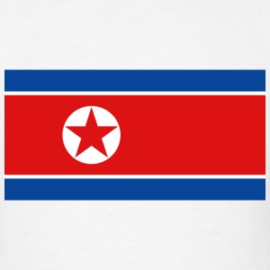 North Korea Flag T-Shirt - Men's T-Shirt