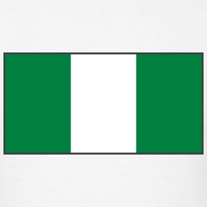 Nigeria Flag T-Shirt - Men's T-Shirt