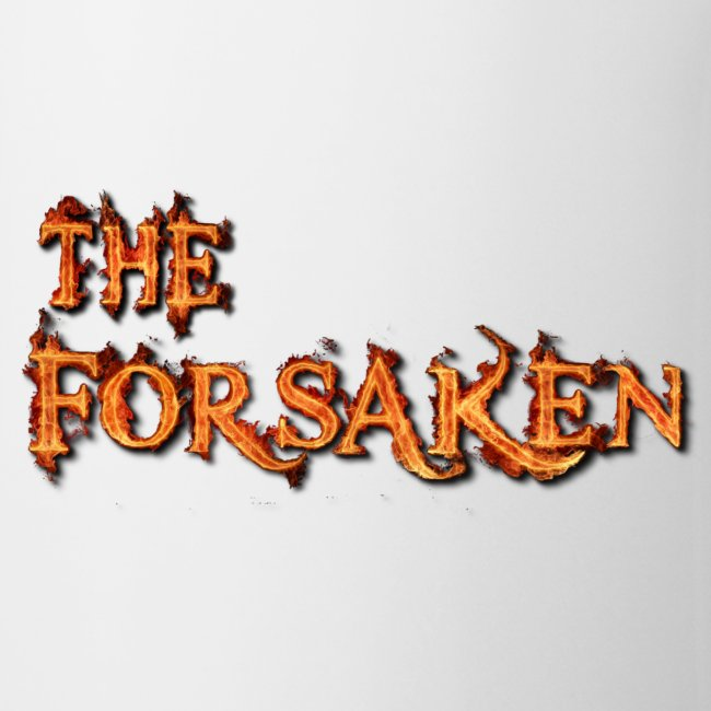 """The Forsaken"" book mug"