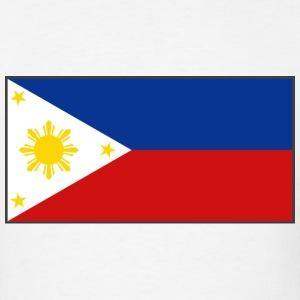 Philippines Flag T-Shirt - Men's T-Shirt