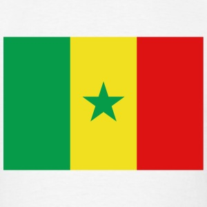 Senegal Flag T-Shirt - Men's T-Shirt