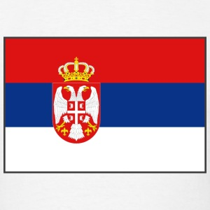Serbia Flag T-Shirt - Men's T-Shirt