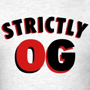 Strictly OG Sneaker Tee - Men's T-Shirt