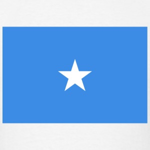 Somalia Flag T-Shirt - Men's T-Shirt