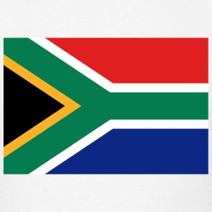 South Africa Flag T-Shirt - Men's T-Shirt
