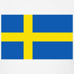 Sweden Flag T-Shirt - Men's T-Shirt