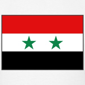 Syria Flag T-Shirt - Men's T-Shirt