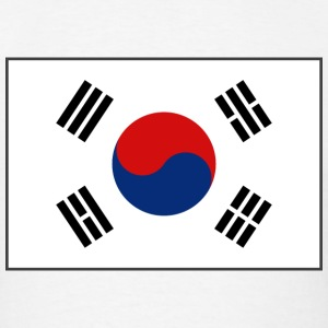 South Korea Flag T-Shirt - Men's T-Shirt