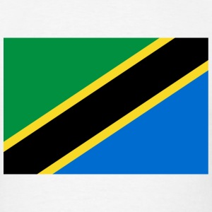 Tanzania Flag T-Shirt - Men's T-Shirt