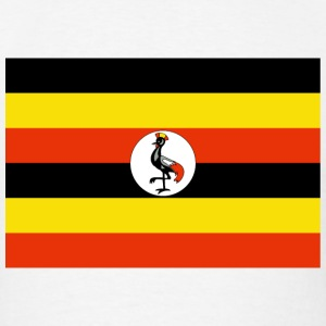 Uganda Flag T-Shirt - Men's T-Shirt