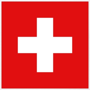 Switzerland Flag T-Shirt - Men's T-Shirt