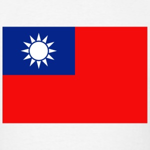 Taiwan Flag T-Shirt - Men's T-Shirt