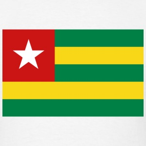 Togo Flag T-Shirt - Men's T-Shirt