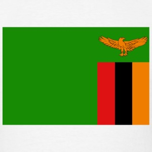 Zambia Flag T-Shirt - Men's T-Shirt