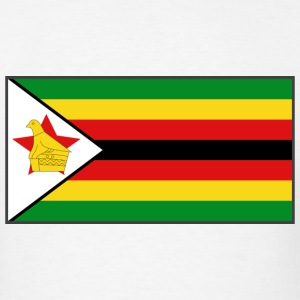 Zimbabwe Flag T-Shirt - Men's T-Shirt