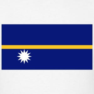 Nauru Flag T-Shirt - Men's T-Shirt