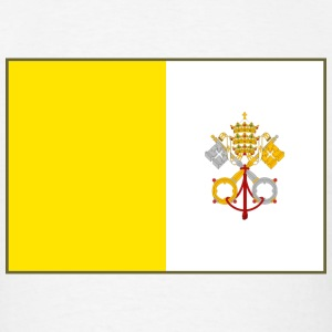 Vatican City Flag T-Shirt - Men's T-Shirt