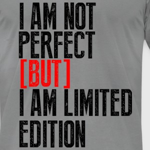 I am Not Perfect - Men's T-Shirt by American Apparel
