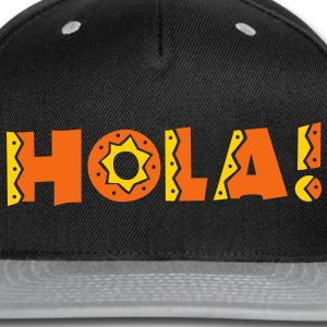 HOLA! new mexico Mexican greeting hello! Caps - Snap-back Baseball Cap