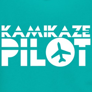 kamikaze pilot with a jet plane Zip Hoodies & Jackets - Unisex Fleece Zip Hoodie by American Apparel
