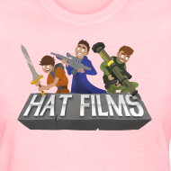 Design ~ Hat Films - Locked n Loaded Womens Standard T-Shirt