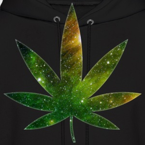 Cosmic Pot Leaf Hoodies - Men's Hoodie