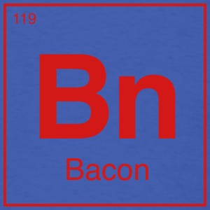 Periodic Bacon - Men's T-Shirt