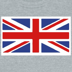 British Flag T-Shirts - Unisex Tri-Blend T-Shirt by American Apparel