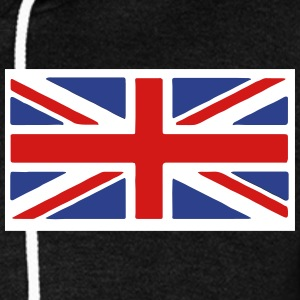 British Flag Zip Hoodies/Jackets - Unisex Fleece Zip Hoodie by American Apparel