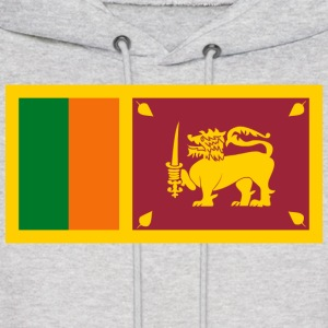 Sri Lanka Flag Sweatshirt - Men's Hoodie
