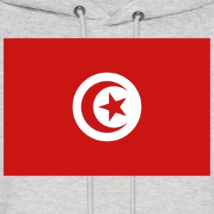 Tunisia Flag Sweatshirt - Men's Hoodie