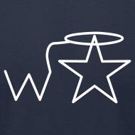 Design ~ Men'sl White Logo S-3X Wranglerstar