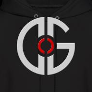 Design ~ Men's Hooded Sweatshirt - Light Logo