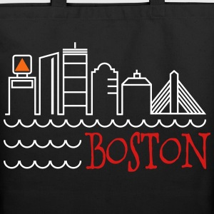 Boston Skyline Bags  - Eco-Friendly Cotton Tote
