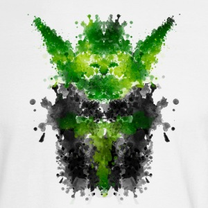 Rorschach Yoda Long Sleeve Shirts - Men's Long Sleeve T-Shirt
