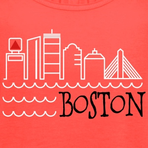 Boston Skyline Tanks - Women's Flowy Tank Top by Bella