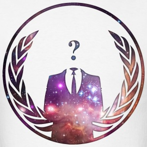 Anonymous in Space T-Shirts - Men's T-Shirt