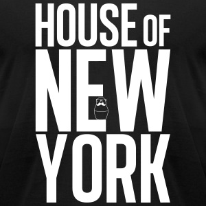 House of New York Black - Men's T-Shirt by American Apparel