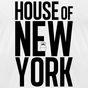 House of New York white - Men's T-Shirt by American Apparel
