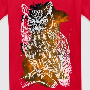 Space Owl Kids' Shirts - Kids' T-Shirt