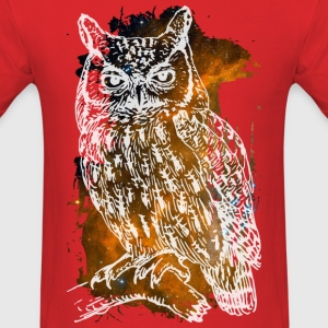 Space Owl T-Shirts - Men's T-Shirt